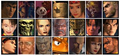 tekken 3 wszystkie postacie